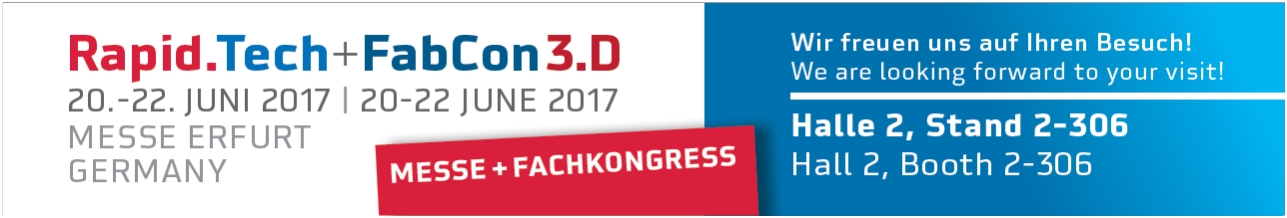 RapidTech 2017 Halle2, Stand 306